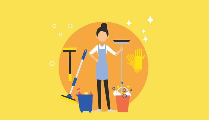 A Clean Organizer realiza limpezas regulares em Lisboa